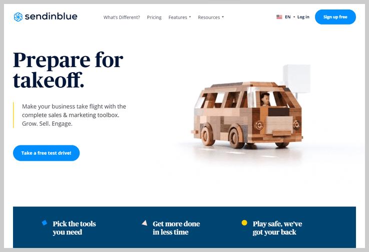 SendinBlue - Email Sending Software