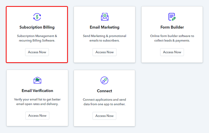 Access Subscription Billing