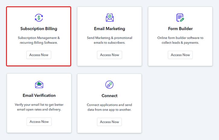 Access Subscription Billing