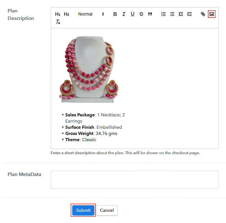 Add Image Description To Sell Handmade Jewelry Online