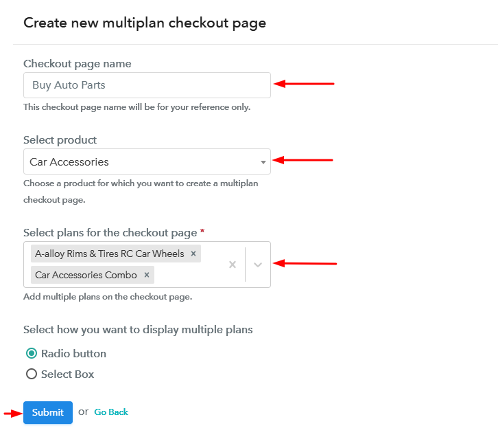 Add Plans to Sell Multiple Coolers from Single Checkout Page Sell Auto Parts Online