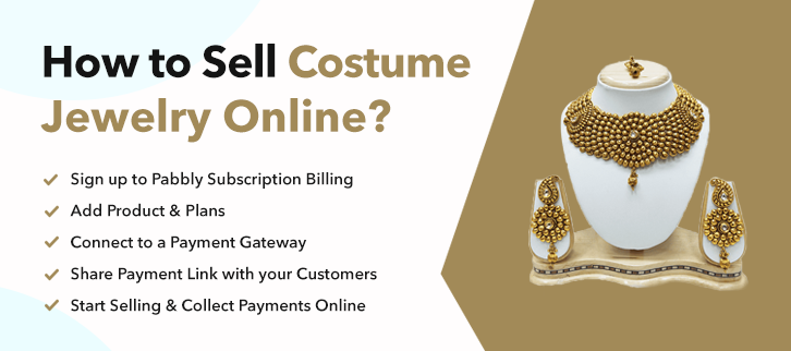 How To Sell Costume Jewelry Online