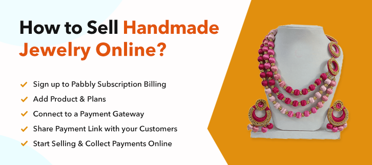 How to Sell Handmade Jewelry Online