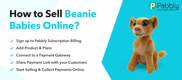 How to Sell Beanie Babies Online