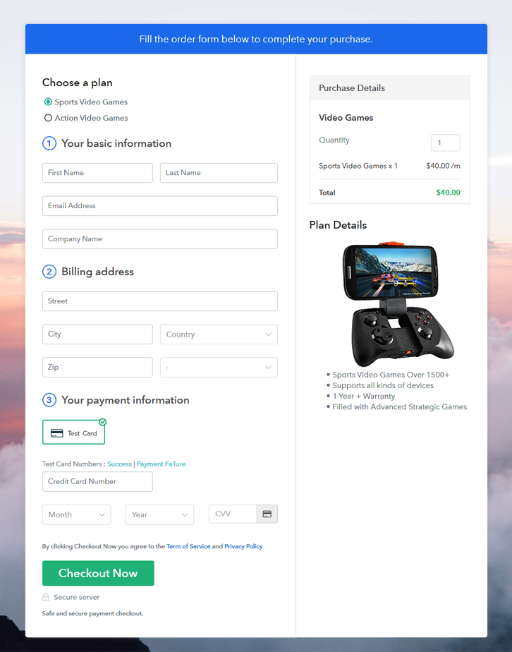 Multiplan Checkout to Sell Video Games Online