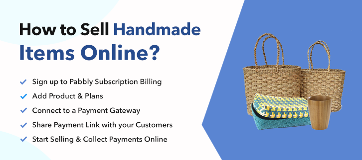 How to Sell Handmade Items Online