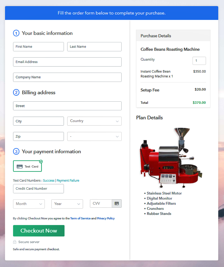 Checkout to Sell Coffee Beans Roasting Machine Online
