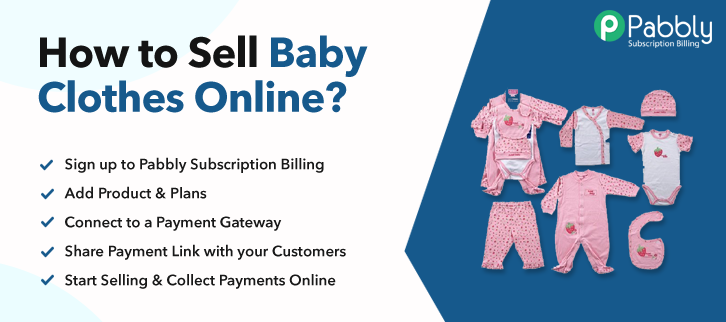 How to Sell Baby Clothes Online