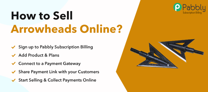 Sell Arrowheads Online