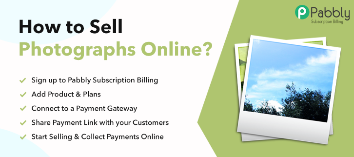 How to Sell Photographs Online