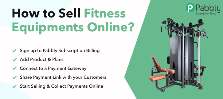How to Sell Fitness Equipments Online
