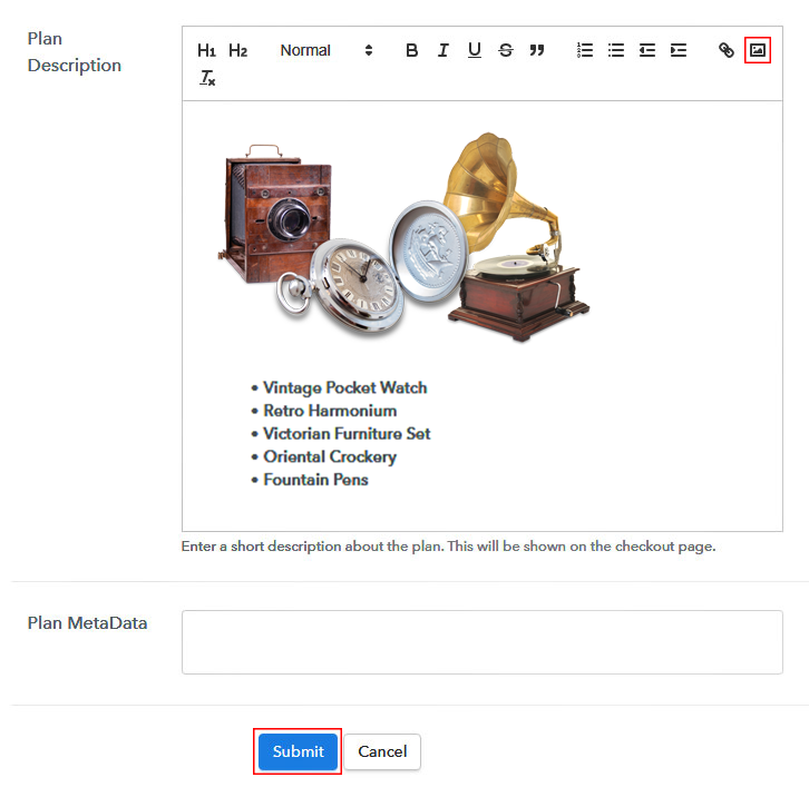 Add Plan to Sell Antiques Online