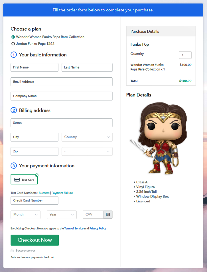 Multiplan checkout to Sell Funko Pops Online