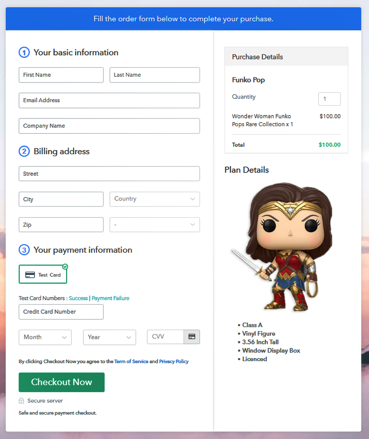 Checkout to Sell Funko Pops Online