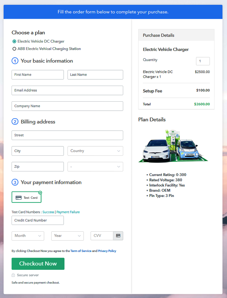 Multiplan Checkout to Sell Electric Vehicle Charger Online