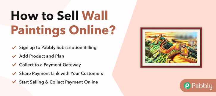 How to Sell Wall Paintings Online