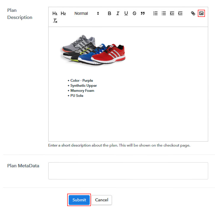 Add Image to Sell Shoes Online