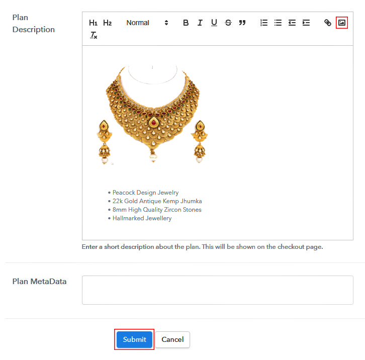 Add Product Image 1
