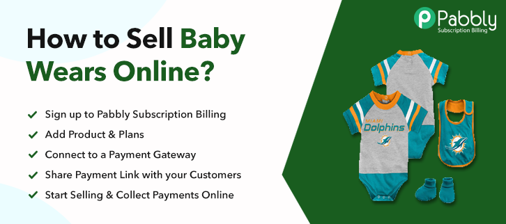 How to Sell Baby Wears Online