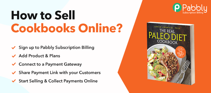 How to Sell Cookbooks Online
