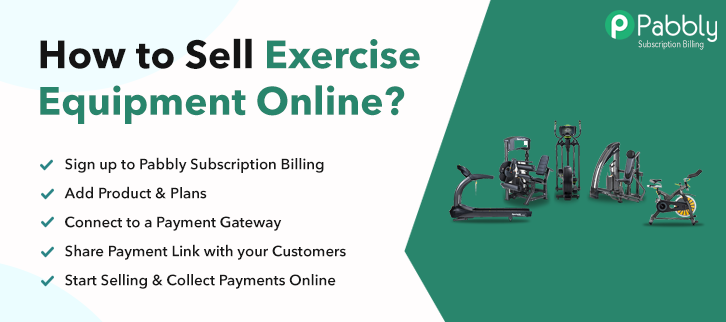 How to Sell Exercise Equipment Online