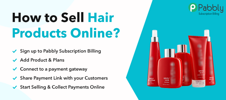 How to Sell Hair Products Online