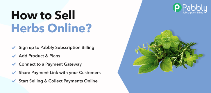 How to Sell Herbs Online