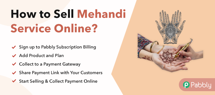 How to Sell Mehandi Service Online