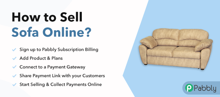 How to Sell Sofa Online