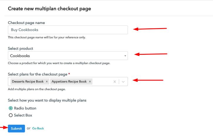 Multiplan Details to Sell Cookbooks Online