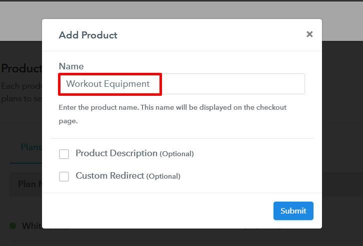 Add Product to Start Selling Workout Equipment Online