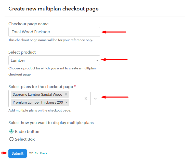 Multiplan Checkout to Sell Lumber Online