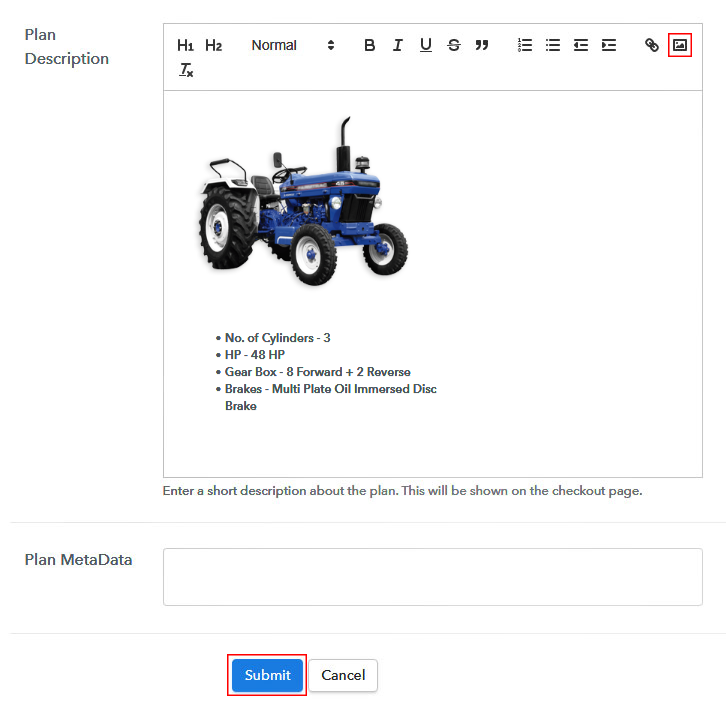 Sell Tractors Online Image