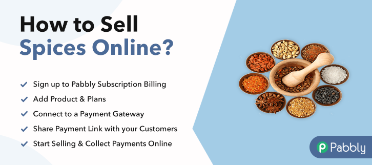 How to Sell Spices Online