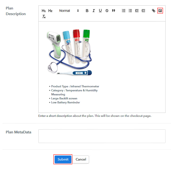 Add Image & Description to Sell Medical Equipment Online