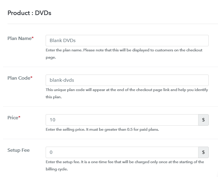 Add Plan to Sell DVDs Online