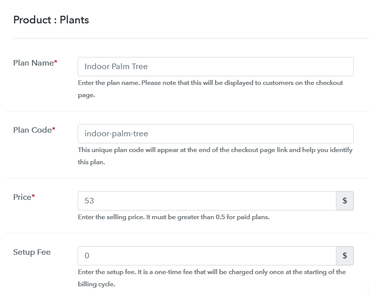 Add Plan to Sell Plants Online