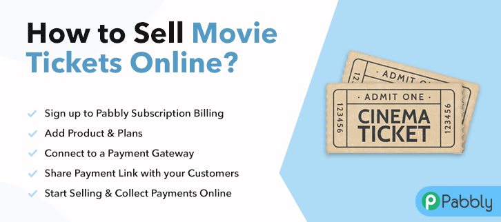 How to Sell Movie Tickets Online