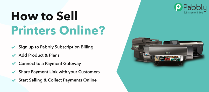 How to Sell Printers Online