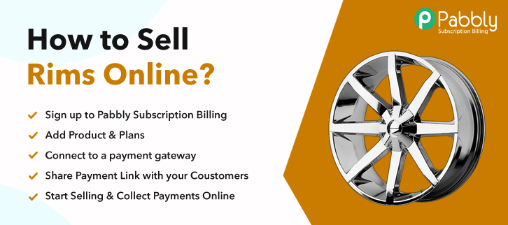 How To Sell Rims Online