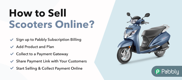 How to Sell Scooters Online