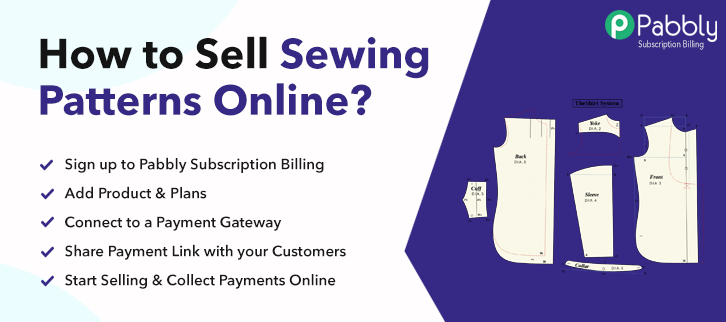 How to Sell Sewing Patterns Online
