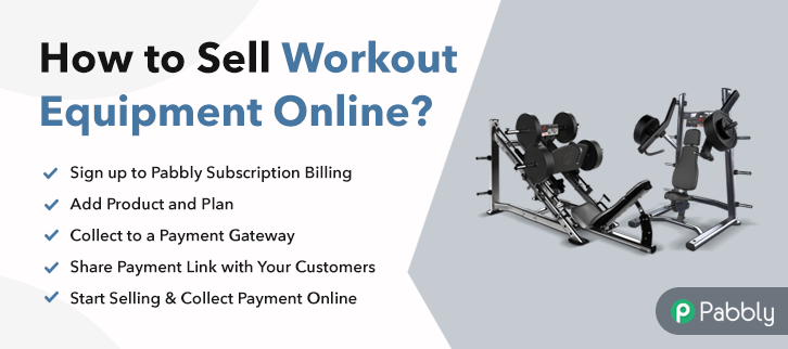 How to Sell Workout Equipment Online