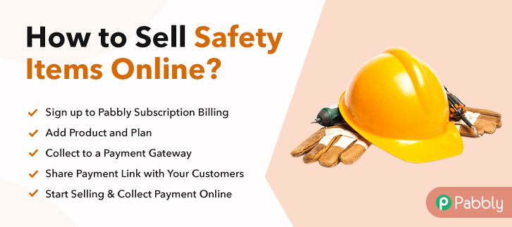 How to Sell Safety Items Online