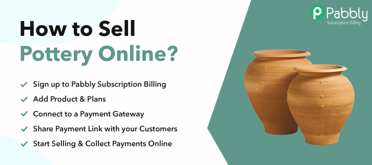 How to Sell Pottery Online