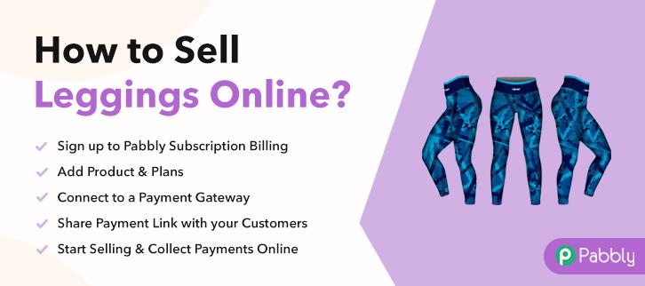 How to Sell Leggings Online