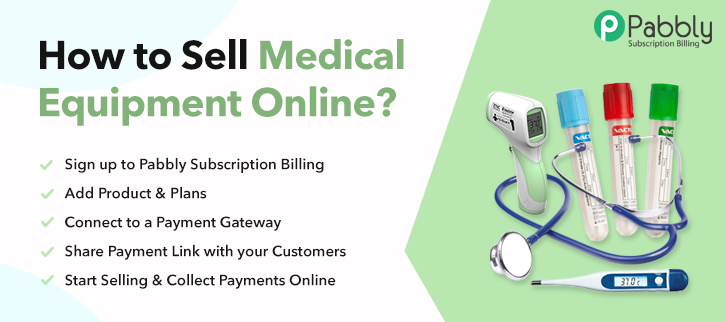 How to Sell Medical Equipment Online