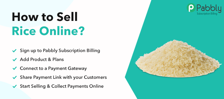 How to Sell Rice Online