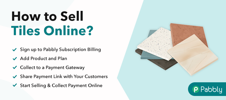 How to Sell Tiles Online
