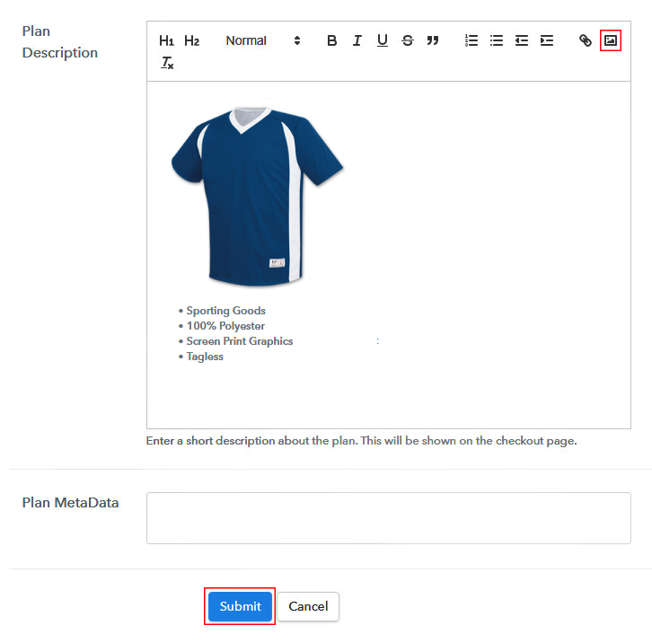 Add Image & Description to Sell Jerseys Online